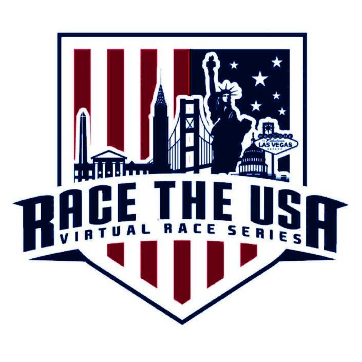 Race the USA Virtual 5k Race Series Logo