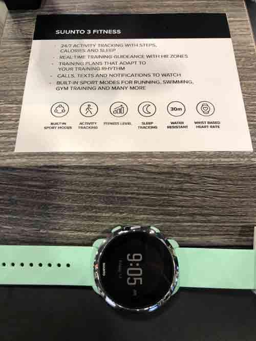 fitness tracker, smart watch, suunto