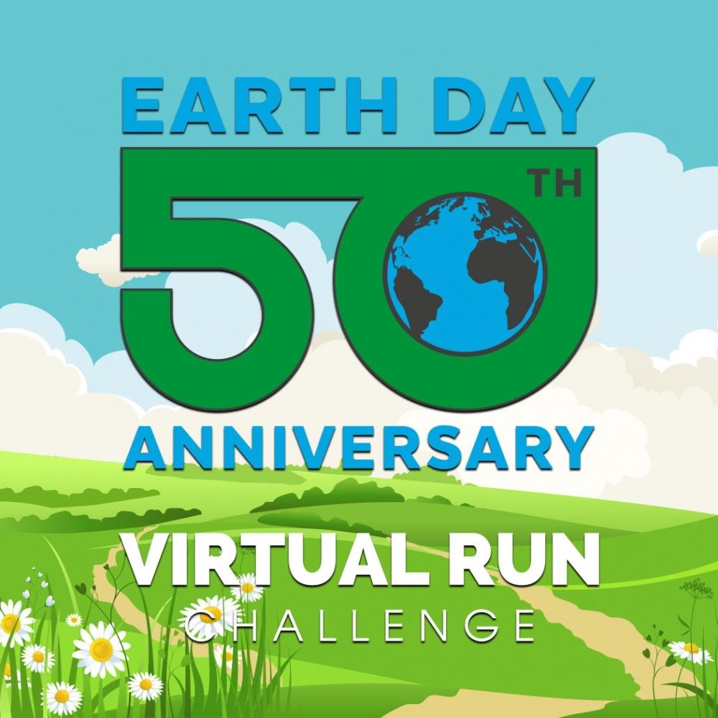 Earth Day Challenge 50th Anniversary Logo
