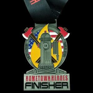 Firefighters Charity Run 5k 10k Virtual Run