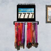 Hanging Virtual Racing Medals
