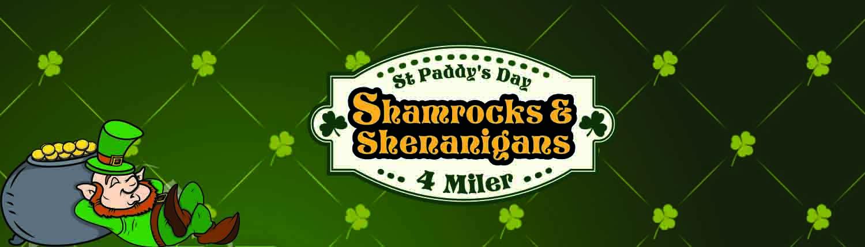 St. Patrick's Day 5k Run Virtual Run