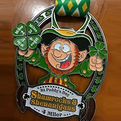 St. Patrick's Day Virtual Run 5k Race