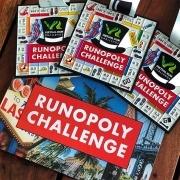 Runopoly Virtual Running Challenge Finisher Medal