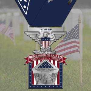 Memorial Day Finisher Medal