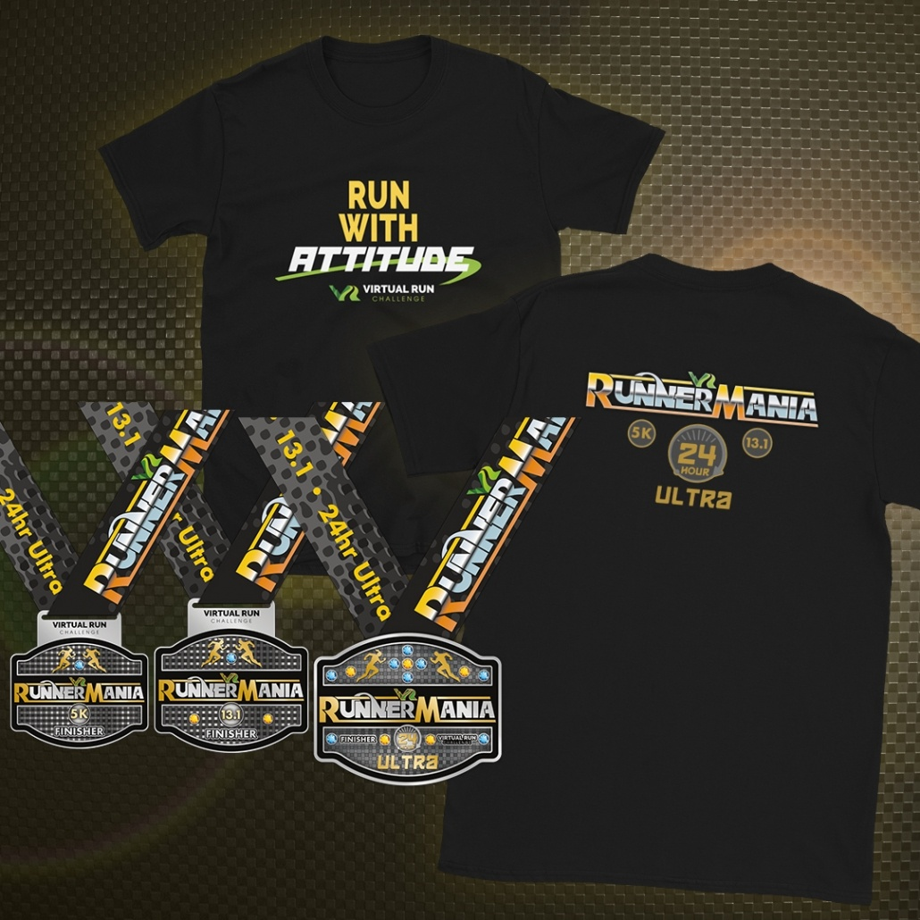 RunnerMania Virtual Running Festival
