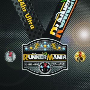 2021 RunnerMania Finisher Medal