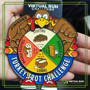 Turkey Trot Run Medal 2019