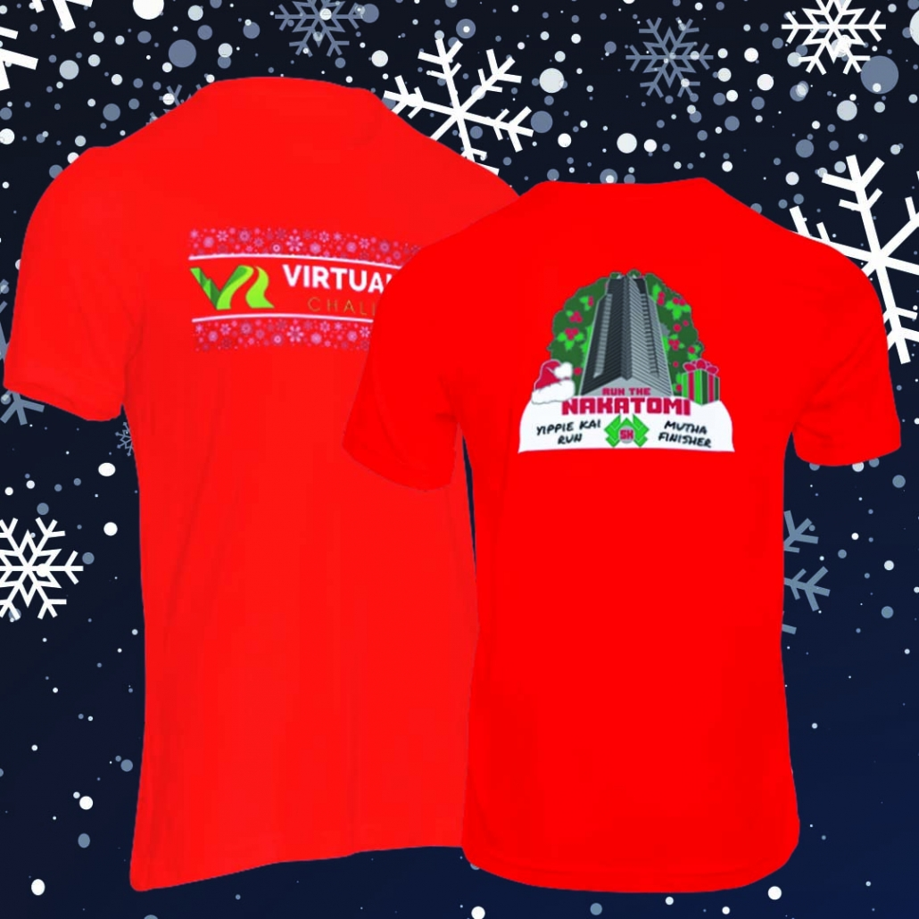Nakatomi Christmas Run Finisher Shirt
