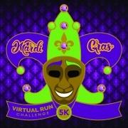 Mardi Gras Virtual 5k Run Walk