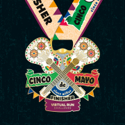 2021 Cinco de Mayo Finisher Medal